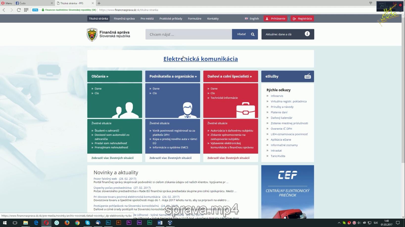 finančná správa slovenskej republiky